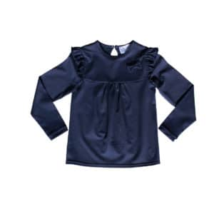 Dis navy jersey topp ss 18 new